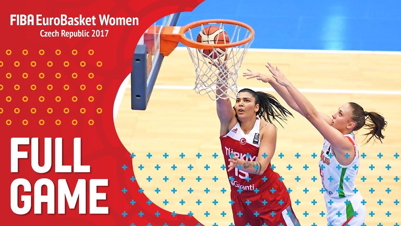 Belarus v Turkey - Full Game - FIBA EuroBasket Women 2017
