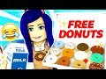 WORLD'S CRAZIEST DONUT FACTORY TYCOON! ROBLOX!