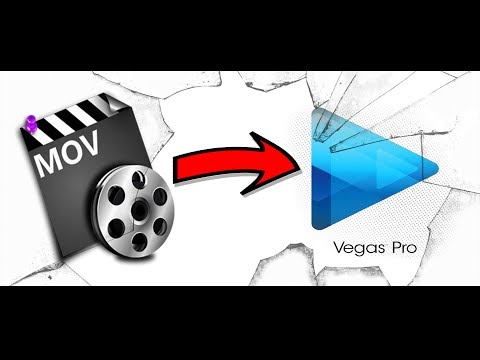 Sony Vegas Pro Problem - Can't open MOV Video File (SOLVED!)