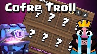 ¡NO ES JUSTO TENER QUE JUGAR CON ESTO! | El Cofre Troll | Clash Royale con TheAlvaro845 | Españo