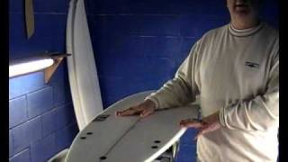 NS Surfboards - Apache Model - for small waves & bigger guys