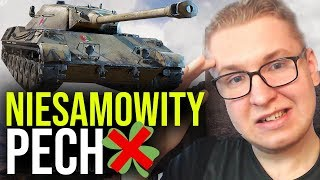 NIESAMOWITY PECH - 1 VS 7 - World of Tanks