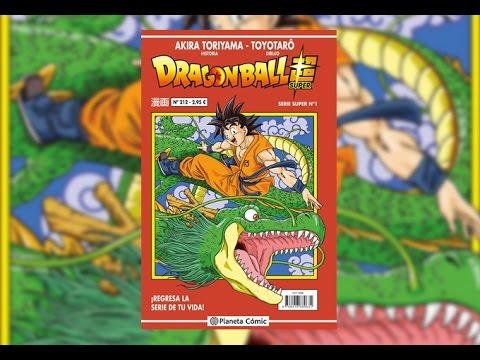 el-manga-de-dragon-ball-super-(serie-roja)-¡unboxing!