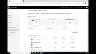 مايكروسوفت PowerApps و Microsoft التدفق: تعلم كيفية إنشاء منظمة العفو الدولية باني النماذج - BRK2054
