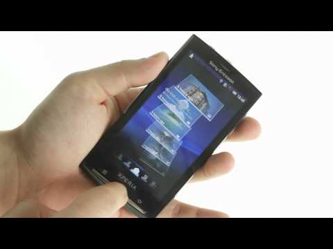 Sony Ericsson XPERIA X10 (Android 2.1, Eclair) hands-on