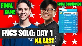 Fortnite FNCS SOLOS NAE Game 6 Highlights - Final Standings