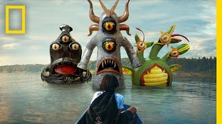 This VR Game Shows Kids How to Fight Monsters in the Water | Short Film Showcase