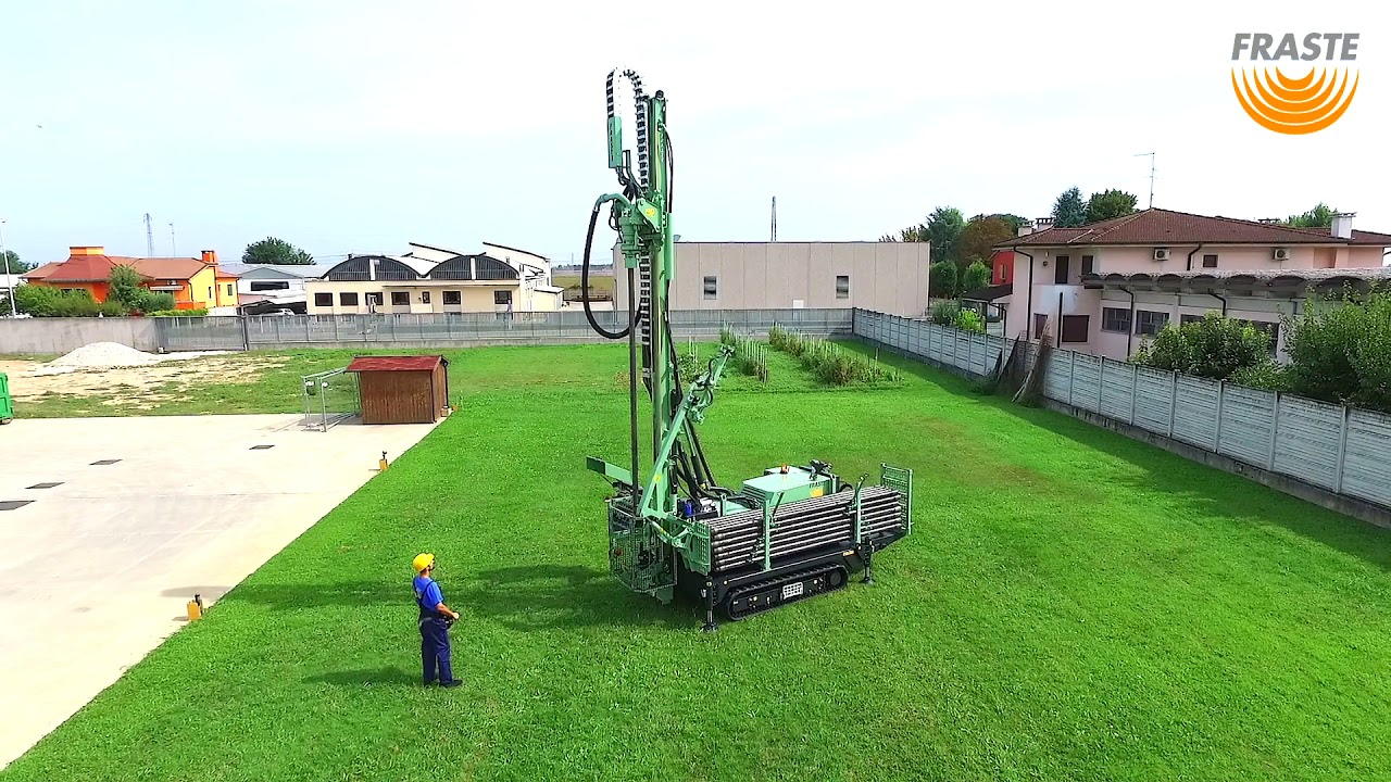 FRASTE Multidrill ML MAX - Water Well, Geotechnical, Geothermal Drill Rig