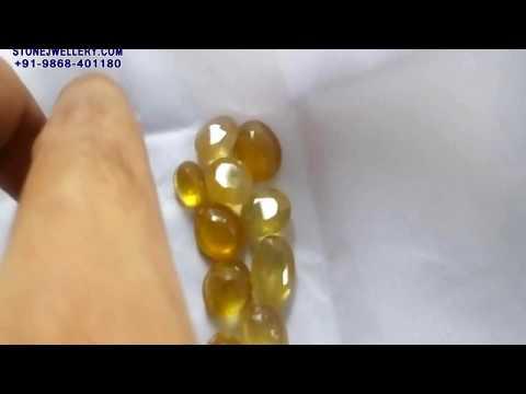 100 Carat Bangkok Yellow Sappire - Pukhraj Stone | StoneJwellery | +91-9868-401180 | # 2