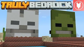 Truly Bedrock S1 : E33 - Archery Game [Redstone Game]