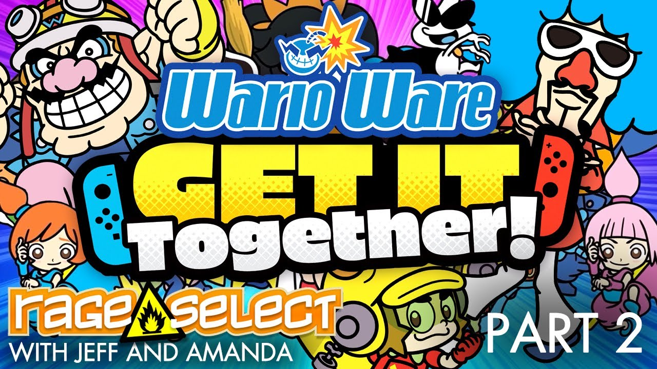 WarioWare: Get It Together! (The Dojo) Let's Play - Part 2