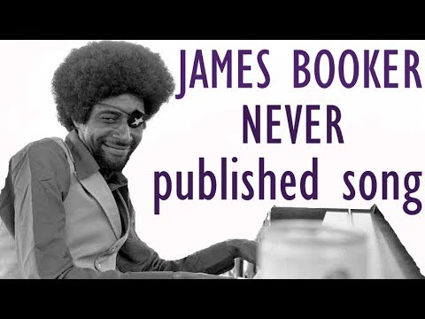 James Booker Beatles Piano Improvisation - Rare Unpublished Song