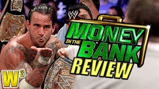 WWE Money In the Bank 2011 Review | Wrestling With Wregret