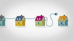 Sähkönsiirto luotettava jakelu turvaa toimivan a