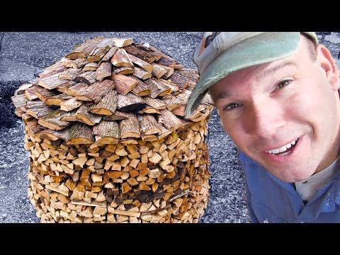BUILD A HOLZ HAUSEN WOODPILE 3.0 - Building the Roof