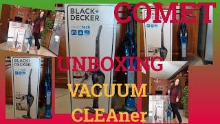 UNBOXING VACUUM CLEANER BLACK …