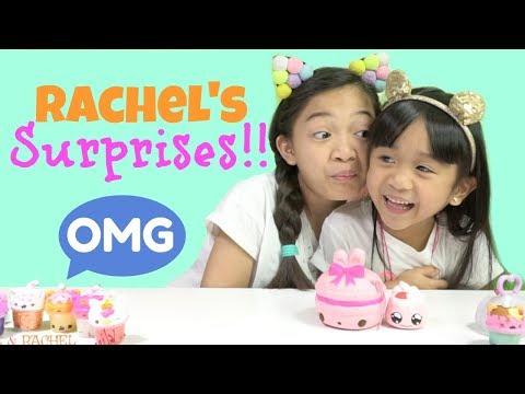 RACHEL'S SURPRISE TOYS