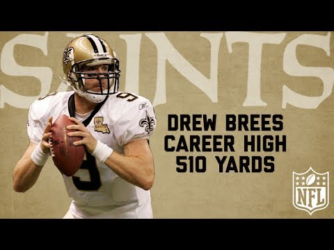 Drew Brees Highlights from Career High 510-Yard Game (2006) | Bengals vs. Saints | NFL