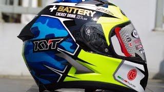 review helm kyt vendeta2 aleix espargaro motogp