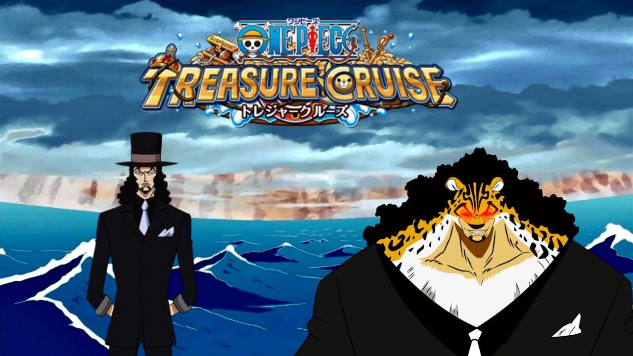 One Piece Treasure Cruise Japan - Rob Lucci 5* Soon? - YouTube