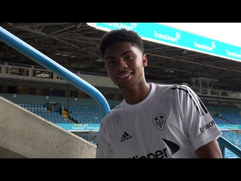 Amari Miller signs for Leeds United | First interview