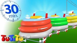 TuTiTu は、「おもちゃが息を吹き返す」2-3歳児を対象とした3Dアニメーションによるテレビ番組です。TuTiTuは、カラフルな形を通して子供たちの想像力や創造力を刺激し ...