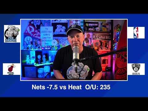 Brooklyn Nets vs Miami Heat 1/25/21 Free NBA Pick and Prediction NBA Betting Tips