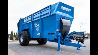Rozrzutnik obornika EUROMILK Buffalo RX ( HD ) w akcji ! Prezentacja maszyn EM oraz firmy !