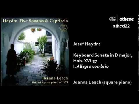 Haydn - Keyboard Sonata in D (period piano)