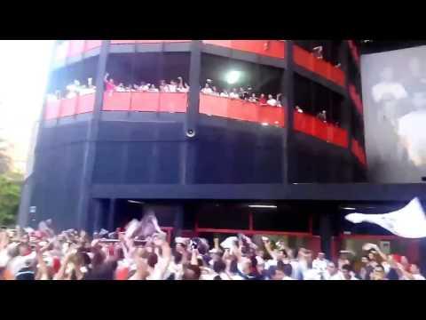 La fiesta del Albacete en Mestalla vs Valencia B