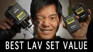 Affordable Dual Lavalier Mic Kit - Saramonic UwMic9