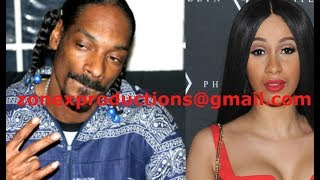 Snoop Dogg WARNS Cardi B & Bloods TO NOT come to California or else get smoked by crips!