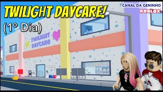[Canal do Geninho] Roblox - 1º Dia em Twilight Daycare