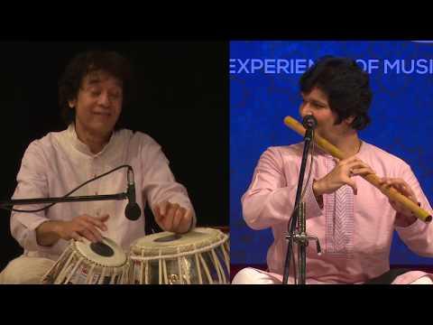 Ustad Zakir Hussain and Rakesh Chaurasia- #Tabla and #Flute