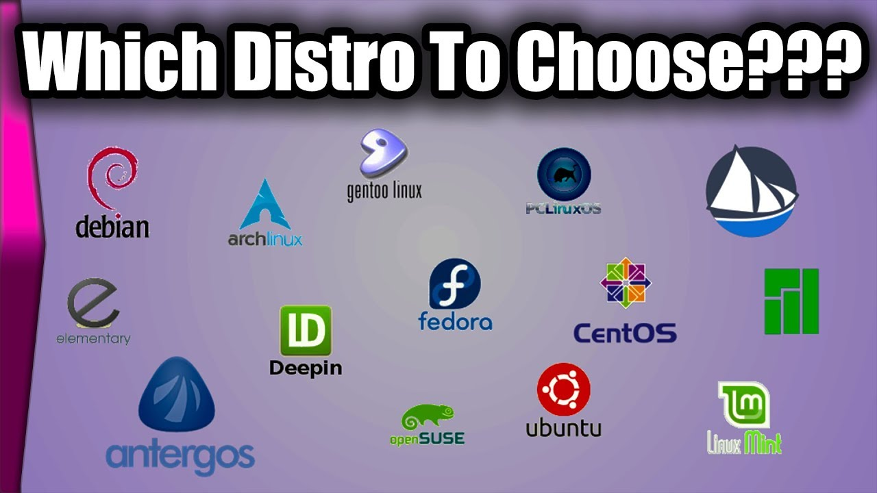 Which linux to choose 15