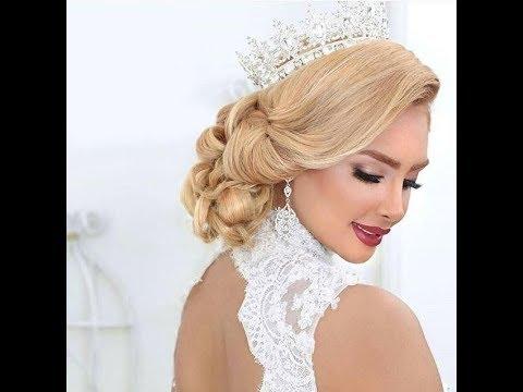 تسريحات عروس Coiffures de cheveux de mariée 2019 _ 2018