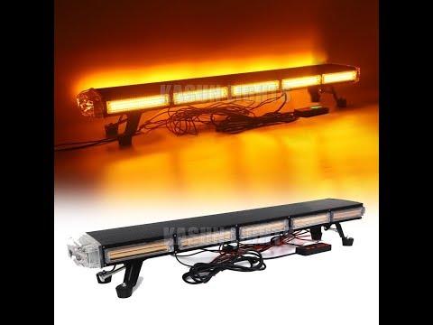 Yellow 36 LED Traffic Advisor Emergency Strobe Beacon Flash Warning Light Bar#94