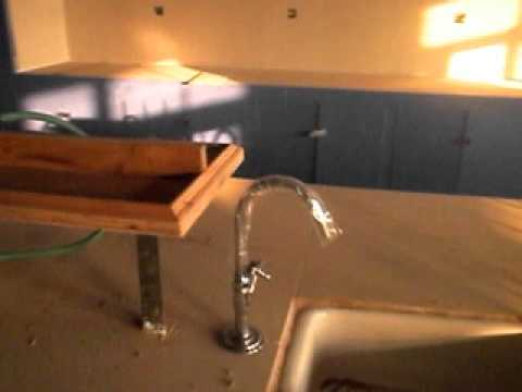 Chemistry Lab Pipe Line Installation With Lab Burner
