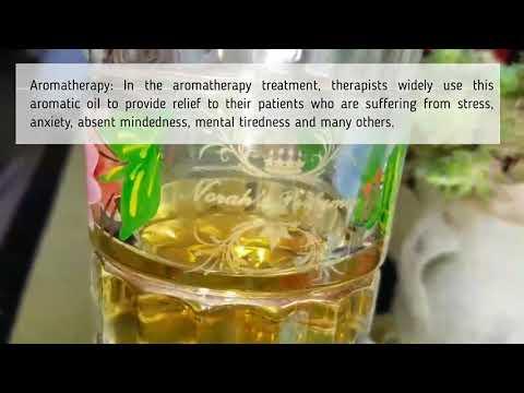 Blue Lotus Absolute Attar, fragrance perfume oil :  Aromatherapy, Massage, Relaxation, Spirituality