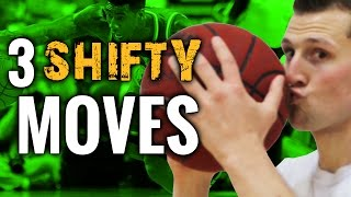 3  SHIFTY Basketball Moves To Create Space & Break Ankles | Advanced NBA Moves