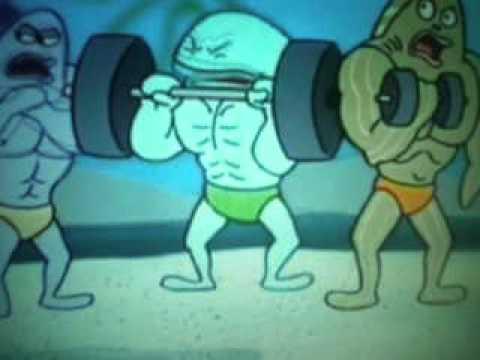 sponge bob i'm sexy and i know it lmfao