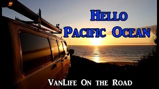 Cruising Into Santa Cruz VanLife On the Road