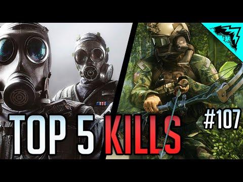 Top EPIC Plays/ Kills (Rainbow Six Siege, Battlefield 4 & Hardline) ACE, CLUTCH, & EPIC - WBCW #107