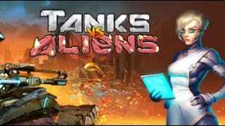 Tanks vs Aliens Gameplay (No Commentary) (Steam Strategy Game 2017)