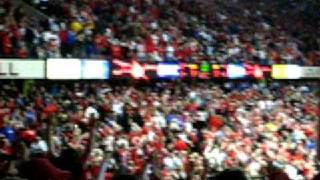 UofL Sosa Game Winning Shot Against UK and Fan Reaction [2009]