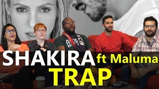 "Music Monday: Shakira ""Trap"" feat Maluma - Group Reaction"