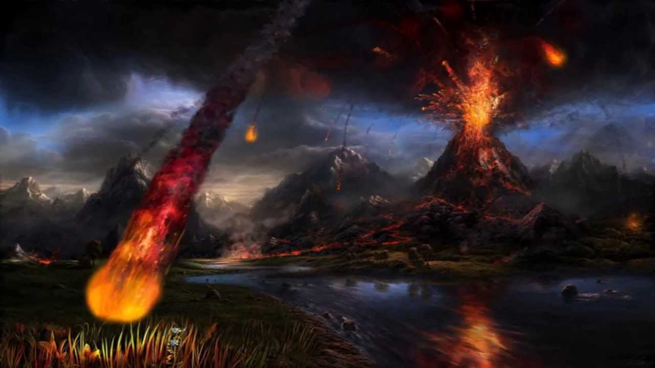Volcano Animated Wallpaper http://www.desktopanimated.com ...