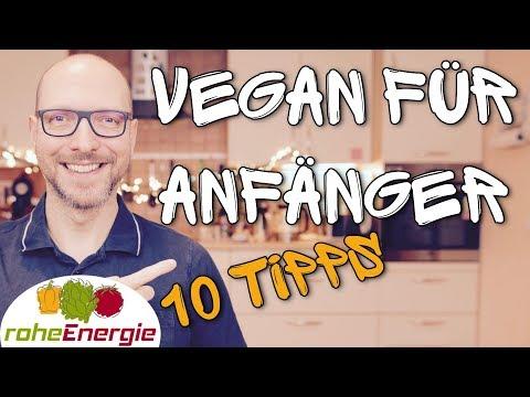 Vegan für Anfänger - 10 Tipps
