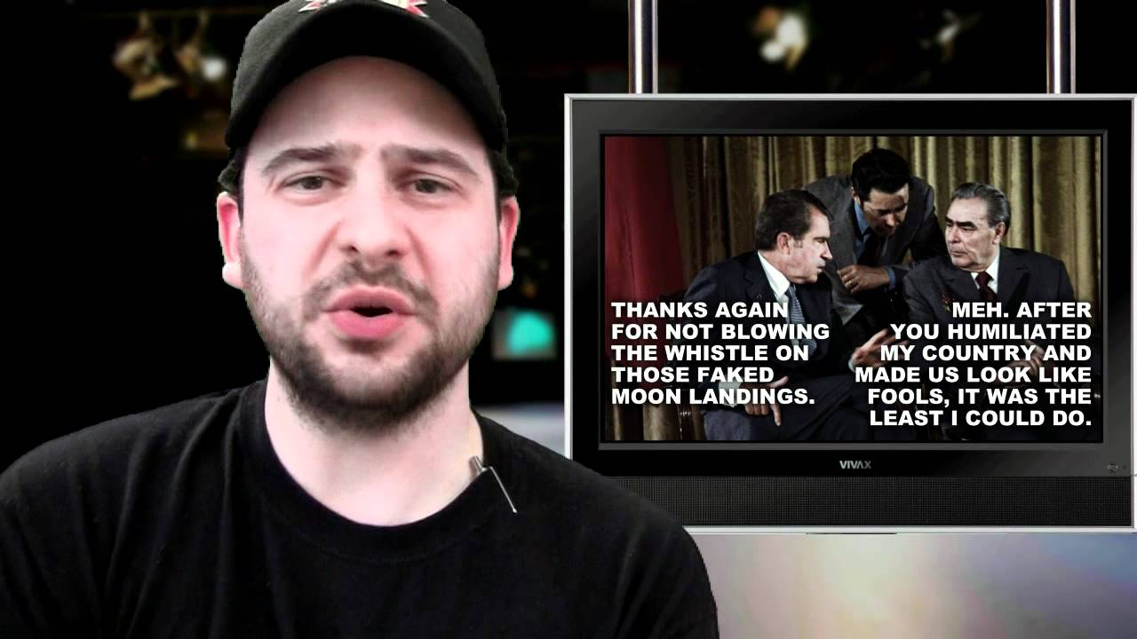 Video - Five Stupid Things About Moon Landing Conspiracy Theories