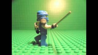 Lego Ninjago Jay swordplay